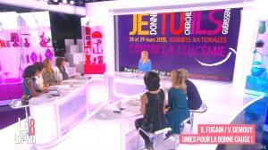 Laurence Ferrari, Hapsatou Sy, Audrey Pulvar et Sophie Davant dans le Grand 8 - 24/03/15 - 50