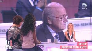 Laurence Ferrari et Hapsatou Sy dans le Grand 8 - 03/06/15 - 16