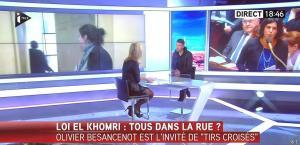 Laurence Ferrari dans Tirs Croisés - 03/03/16 - 02