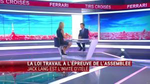 Laurence Ferrari dans Tirs Croisés - 03/05/16 - 01