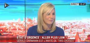 Laurence Ferrari dans Tirs Croises - 05/01/16 - 10