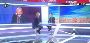 Laurence Ferrari dans Tirs Croisés - 05/01/16 - 18