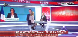 Laurence Ferrari dans Tirs Croisés - 05/11/15 - 04
