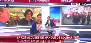 Laurence Ferrari dans Tirs Croisés - 06/06/16 - 05