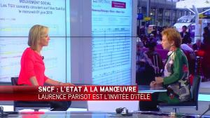 Laurence Ferrari dans Tirs Croises - 07/06/16 - 15