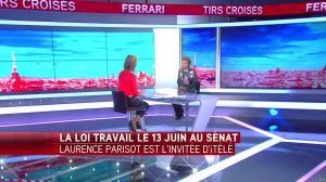 Laurence Ferrari dans Tirs Croises - 07/06/16 - 24