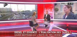 Laurence Ferrari dans Tirs Croisés - 07/10/15 - 06