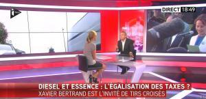 Laurence Ferrari dans Tirs Croisés - 07/10/15 - 08
