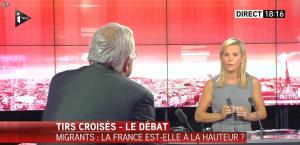 Laurence Ferrari dans Tirs Croisés - 08/09/15 - 10
