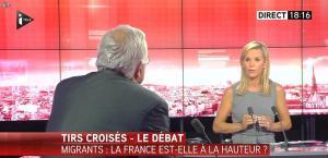 Laurence Ferrari dans Tirs Croises - 08/09/15 - 10