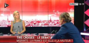 Laurence Ferrari dans Tirs Croises - 08/09/15 - 11