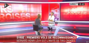Laurence Ferrari dans Tirs Croisés - 08/09/15 - 16