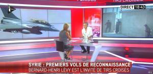 Laurence Ferrari dans Tirs Croises - 08/09/15 - 17