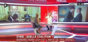 Laurence Ferrari dans Tirs Croises - 08/09/15 - 22