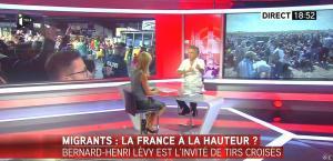 Laurence Ferrari dans Tirs Croisés - 08/09/15 - 27