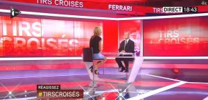 Laurence Ferrari dans Tirs Croisés - 08/10/15 - 03