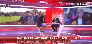 Laurence Ferrari dans Tirs Croisés - 08/10/15 - 06