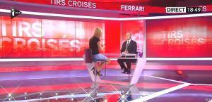 Laurence Ferrari dans Tirs Croisés - 08/10/15 - 12