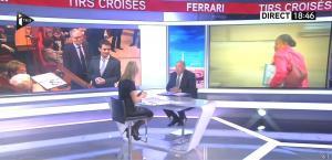 Laurence Ferrari dans Tirs Croisés - 12/01/16 - 02