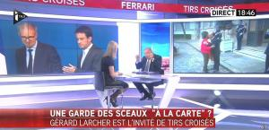 Laurence Ferrari dans Tirs Croises - 12/01/16 - 03