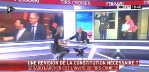 Laurence Ferrari dans Tirs Croisés - 12/01/16 - 04