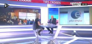 Laurence Ferrari dans Tirs Croisés - 12/01/16 - 09