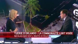 Laurence Ferrari dans Tirs Croisés - 13/06/16 - 05