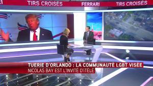 Laurence Ferrari dans Tirs Croisés - 13/06/16 - 08