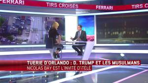 Laurence Ferrari dans Tirs Croisés - 13/06/16 - 10