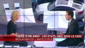 Laurence Ferrari dans Tirs Croisés - 13/06/16 - 12