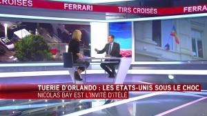 Laurence Ferrari dans Tirs Croises - 13/06/16 - 13