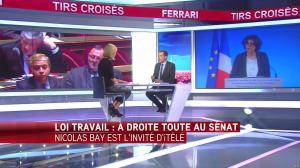 Laurence Ferrari dans Tirs Croisés - 13/06/16 - 15