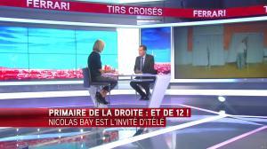 Laurence Ferrari dans Tirs Croisés - 13/06/16 - 17