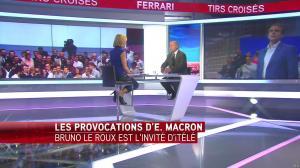 Laurence Ferrari dans Tirs Croisés - 13/07/16 - 05