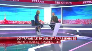 Laurence Ferrari dans Tirs Croises - 13/07/16 - 08