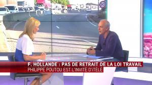 Laurence Ferrari dans Tirs Croisés - 17/05/16 - 21
