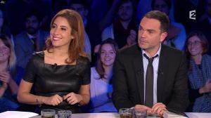 Léa Salamé dans On n'est pas Couché - 09/01/16 - 01