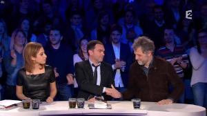 Léa Salamé dans On n'est pas Couché - 09/01/16 - 02