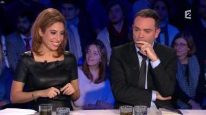 Léa Salamé dans On n'est pas Couché - 09/01/16 - 03