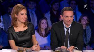 Léa Salamé dans On n'est pas Couché - 09/01/16 - 05