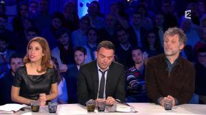 Léa Salamé dans On n'est pas Couché - 09/01/16 - 06