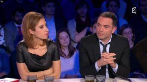 Léa Salamé dans On n'est pas Couché - 09/01/16 - 07