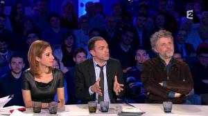 Léa Salamé dans On n'est pas Couché - 09/01/16 - 08