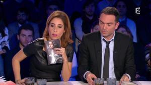 Léa Salamé dans On n'est pas Couché - 09/01/16 - 10