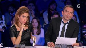 Léa Salamé dans On n'est pas Couché - 09/01/16 - 12