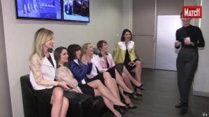 Les Filles de BFM TV dans Paris Match - 07/04/16 - 02