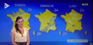 Marlène Duret à la Météo de i télé - 29/07/16 - 02