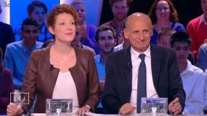 Natacha Polony dans le Grand Journal de Canal Plus - 08/10/14 - 01
