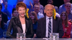 Natacha Polony dans le Grand Journal de Canal Plus - 09/10/14 - 01