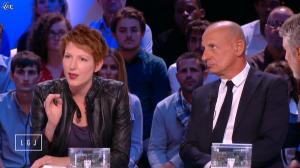 Natacha Polony dans le Grand Journal de Canal Plus - 25/08/14 - 03